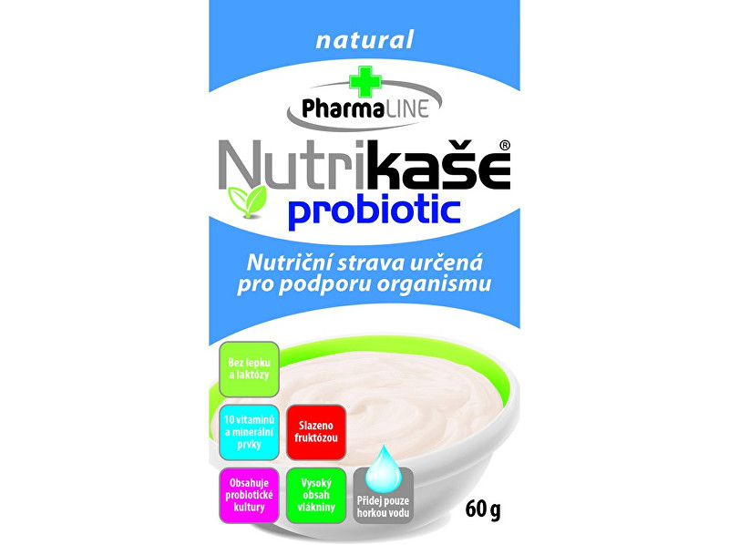 Zobrazit detail výrobku PharmaLINE Nutrikaše probiotic natural 60g