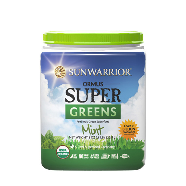 Ormus Super Greens BIO mátový 454 g