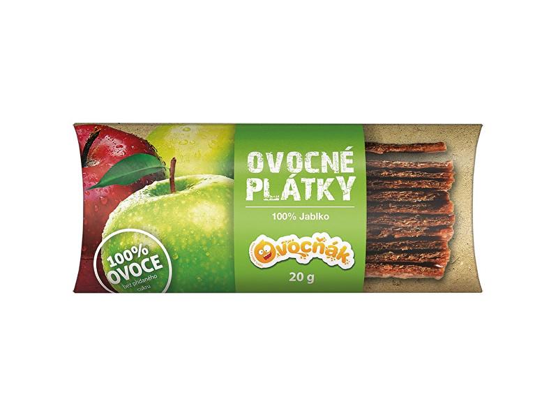 Zobrazit detail výrobku Ovocňák Ovocné plátky Jablko 100% 20g