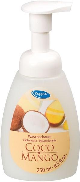 Zobrazit detail výrobku Kappus Pěnové mýdlo - kokos + mango 250 ml