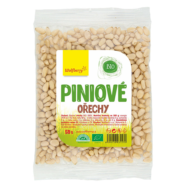 Zobrazit detail výrobku Wolfberry Piniové ořechy BIO 50 g