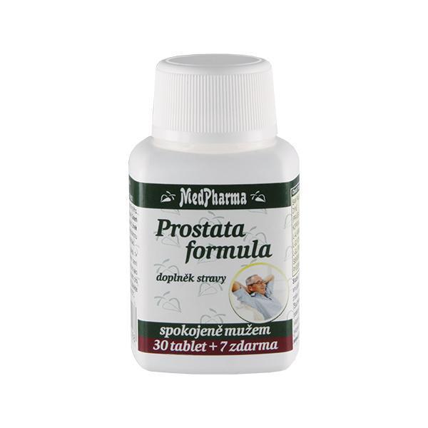 Zobrazit detail výrobku MedPharma Prostata formula 30 tbl. + 7 tbl. ZDARMA