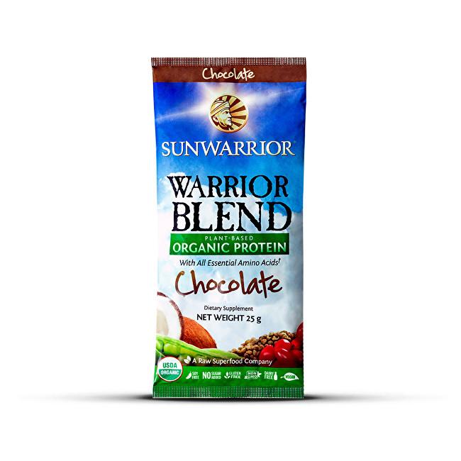 Sunwarrior Protein Blend BIO čokoládový 25 g