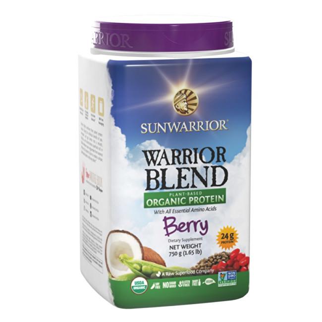 Zobrazit detail výrobku Sunwarrior Protein Blend BIO lesní plody 750 g