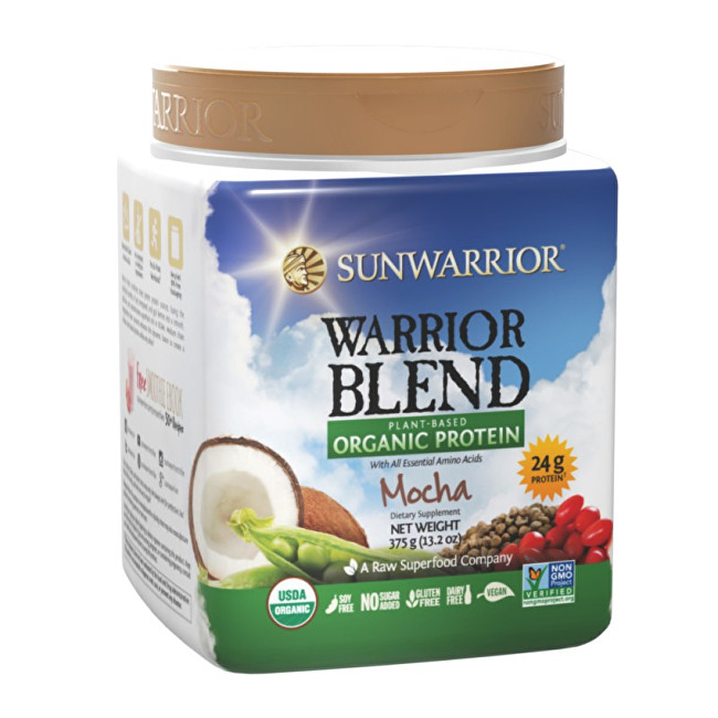 Zobrazit detail výrobku Sunwarrior Protein Blend BIO moka 375 g