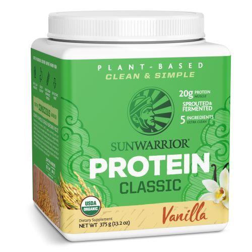 Zobrazit detail výrobku Sunwarrior Protein Classic vanilkový 375 g