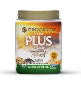 Zobrazit detail výrobku Sunwarrior Protein Plus BIO natural 375 g