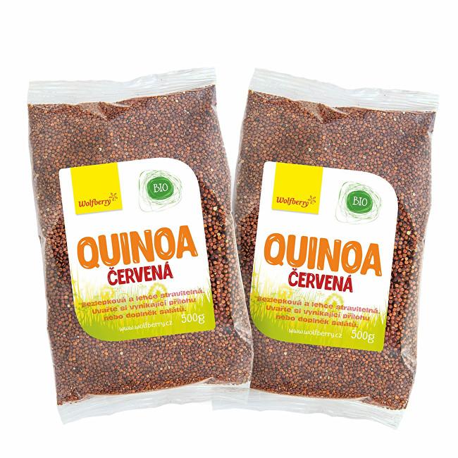 Zobrazit detail výrobku Wolfberry Quinoa červená BIO 500 g