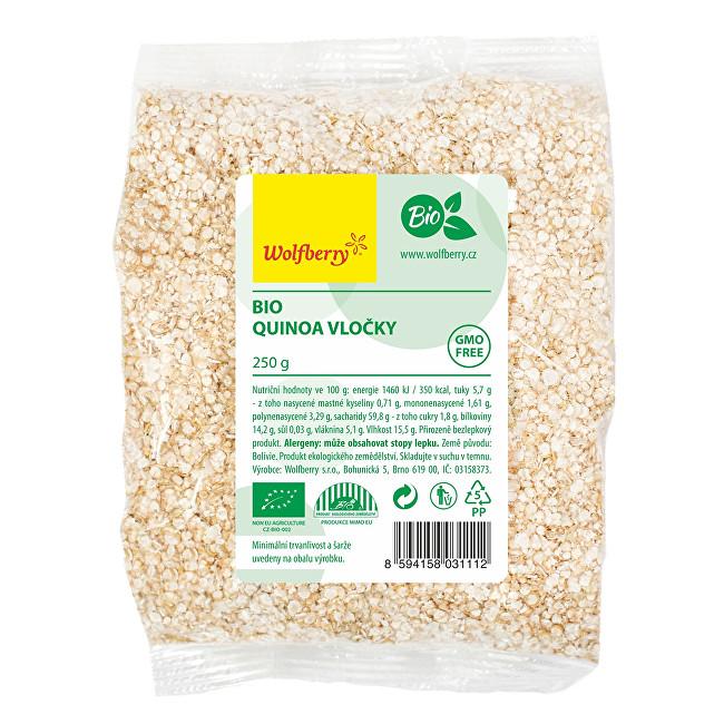 Zobrazit detail výrobku Wolfberry Quinoa vločky BIO 250 g