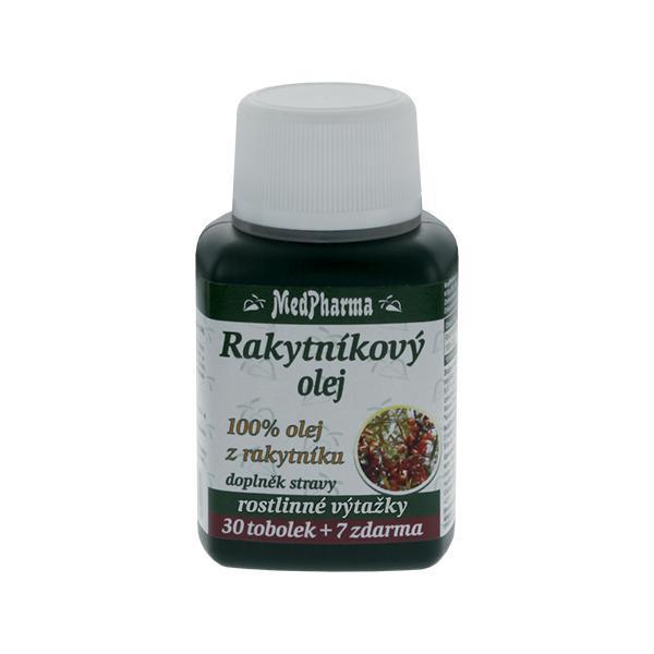 Zobrazit detail výrobku MedPharma Rakytníkový olej 100% 37 kapslí