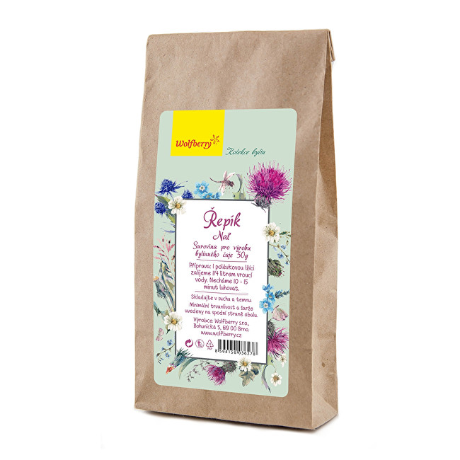 Zobrazit detail výrobku Wolfberry Řepík nať bylinný čaj 50 g