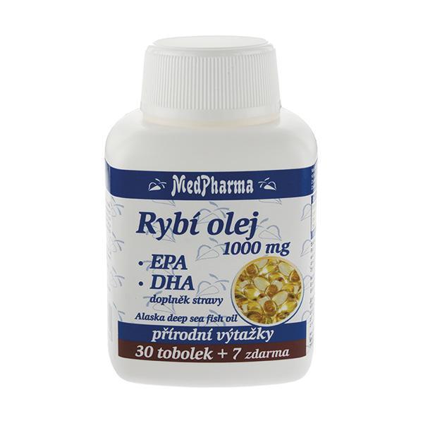 Zobrazit detail výrobku MedPharma Rybí olej 1000 mg + EPA + DHA 37 kapslí