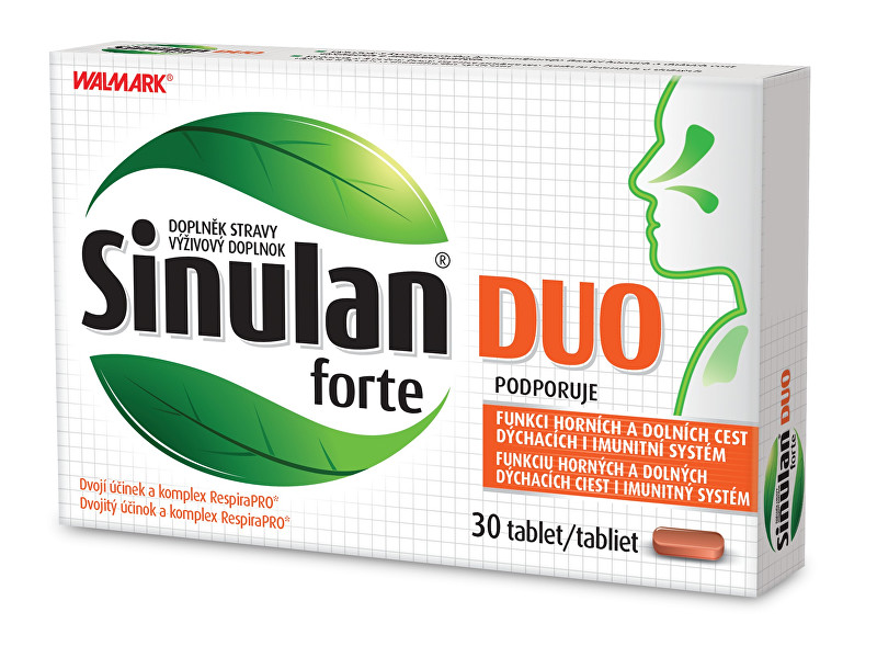 Zobrazit detail výrobku Walmark Sinulan Duo Forte 30 tbl.