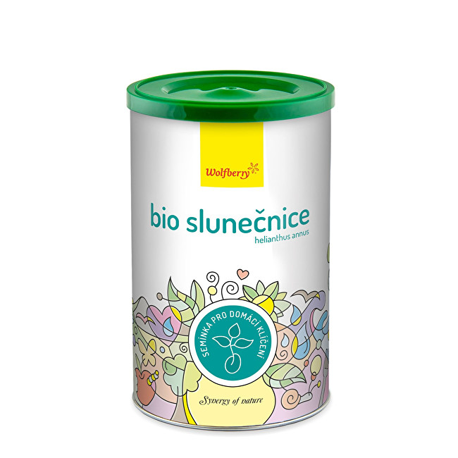 Wolfberry Slunečnice BIO semínka na klíčení 200 g