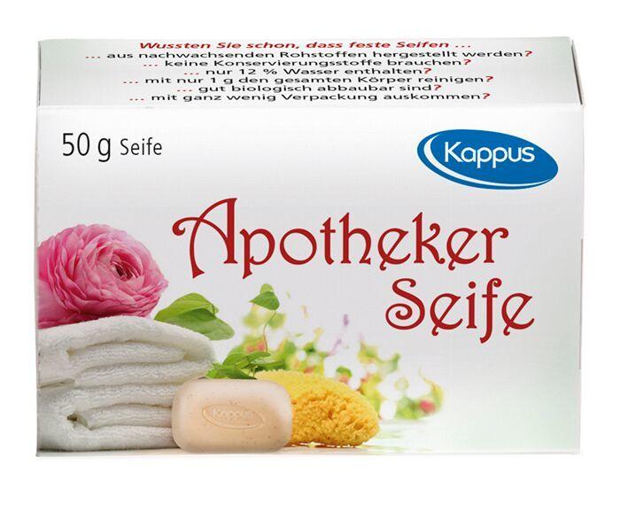 Kappus Toaletní lékařské mýdlo Apotheker 50 g