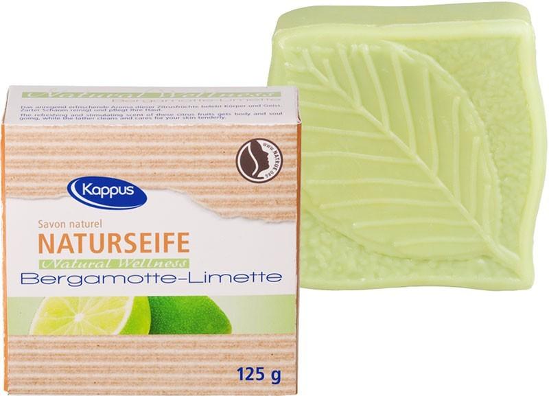 Zobrazit detail výrobku Kappus Toaletní mýdlo Natural Bergamot & Lime 125 g