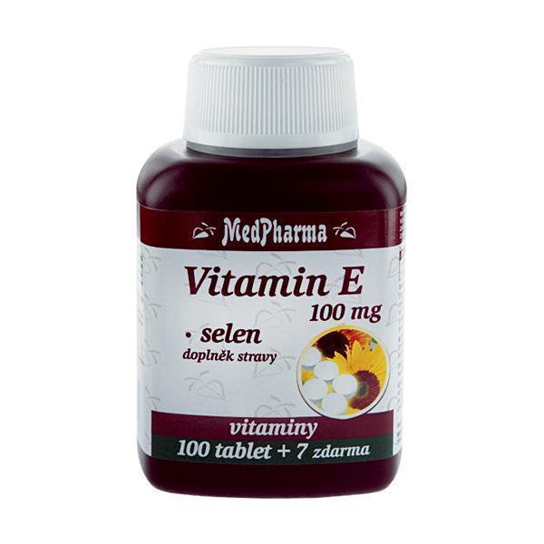 Zobrazit detail výrobku MedPharma Vitamín E 100 mg + selen 100 tbl. + 7 tbl. ZDARMA