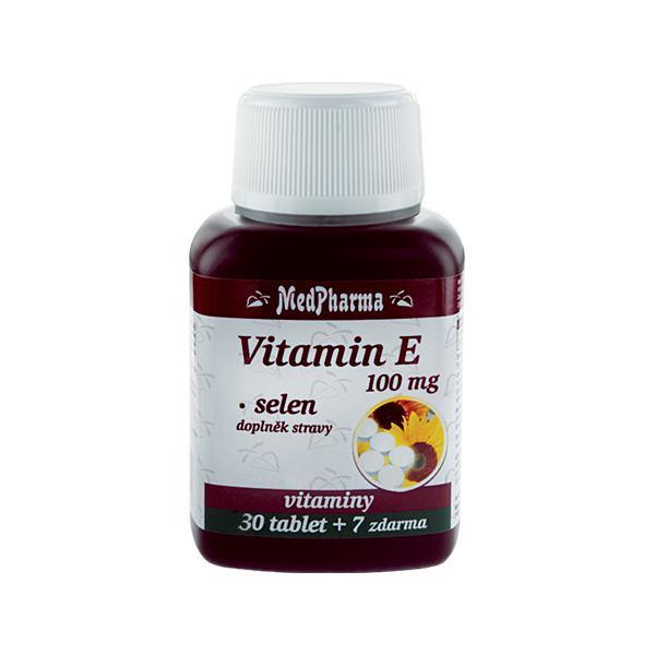 Zobrazit detail výrobku MedPharma Vitamín E 100 mg + selen 30 tbl. + 7 tbl. ZDARMA