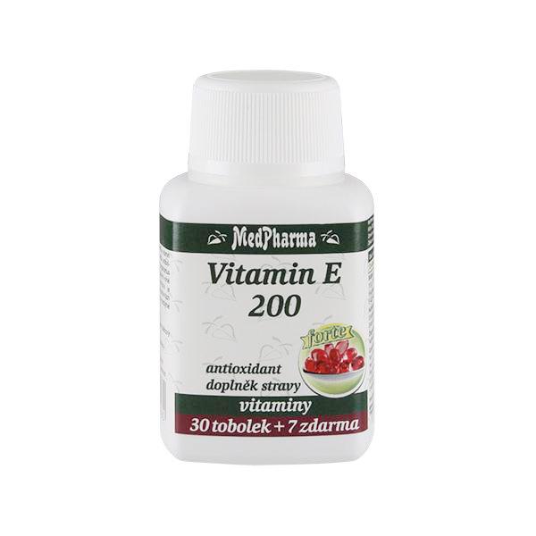 Zobrazit detail výrobku MedPharma Vitamín E 200 Forte 30 tob. + 7 tob. ZDARMA