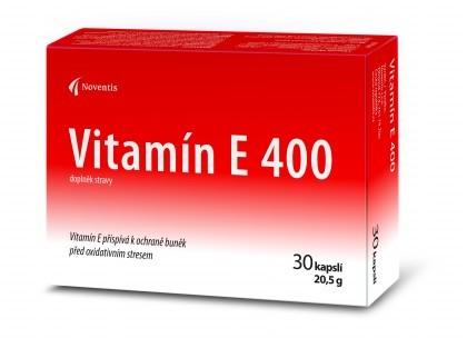 Vitamín E 400 30 kapslí