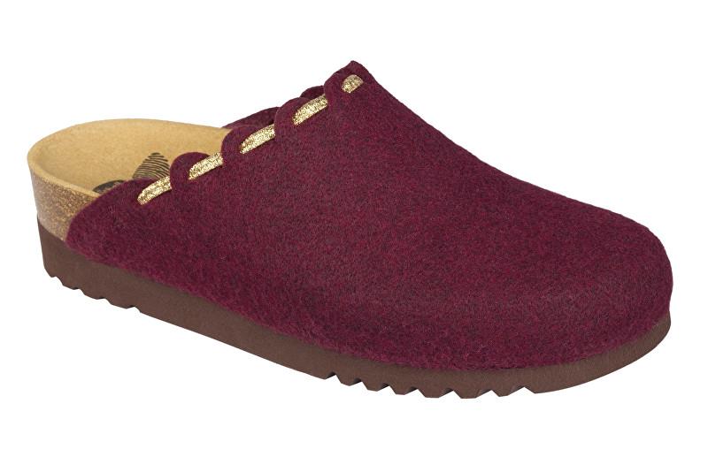 Scholl Zdravotní obuv ELODIE burgundy (vínová) 41