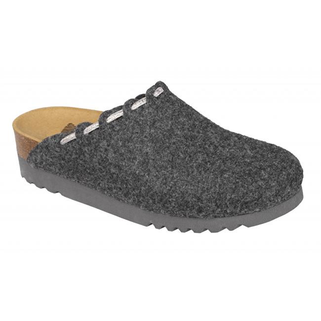 Scholl Zdravotní obuv ELODIE tmavě šedá 41