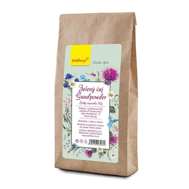 Zobrazit detail výrobku Wolfberry Zelený čaj gunpowder 50 g