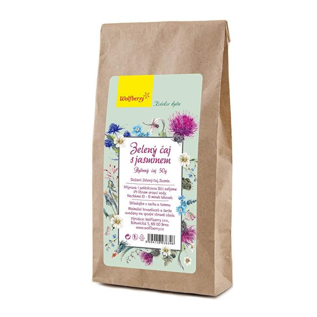 Zobrazit detail výrobku Wolfberry Zelený čaj s jasmínem 50 g