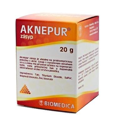 Zobrazit detail výrobku Biomedica Aknepur zásyp 20 g