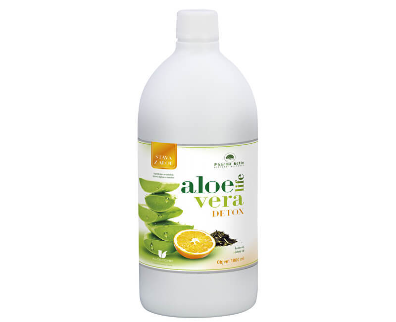 Zobrazit detail výrobku Pharma Activ AloeLive Detox 1000 ml + zdarma Rakytníkový olej 50 ml