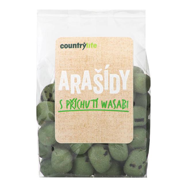 Zobrazit detail výrobku Country Life Arašídy s příchutí wasabi 100 g