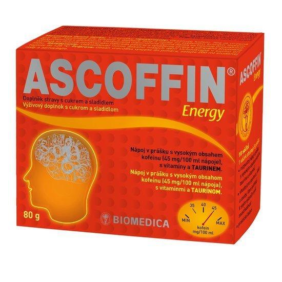 Zobrazit detail výrobku Biomedica Ascofin Energy 10 x 8 g