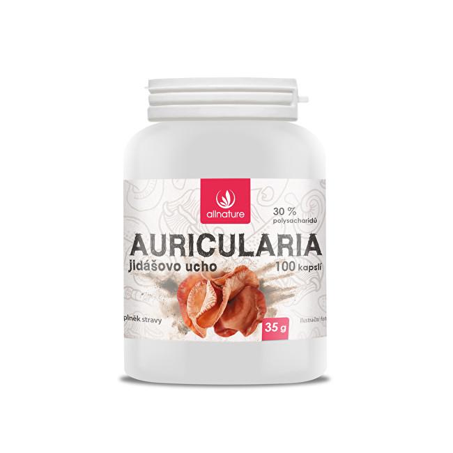 Zobrazit detail výrobku Allnature Auricularia Jidášovo ucho 100 kapslí