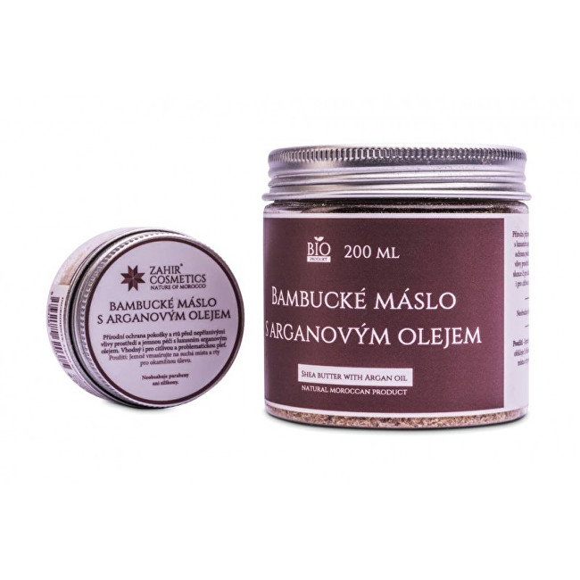 Záhir cosmetics s.r.o. Bambucké máslo s arganovým olejem 25 ml