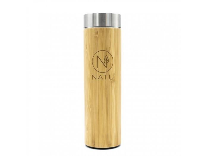 Zobrazit detail výrobku Natu Bambusová termoláhev se sítkem 500 ml