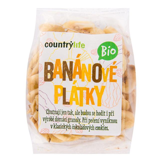 Zobrazit detail výrobku Country Life Banánové plátky BIO 100g
