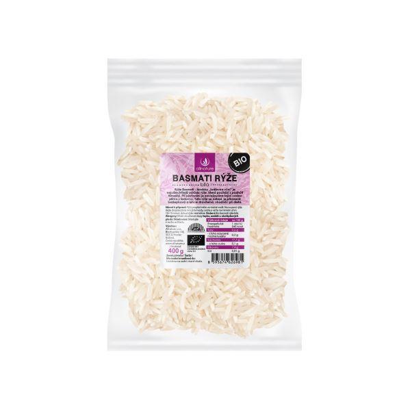 Zobrazit detail výrobku Allnature Basmati rýže bílá BIO 400 g