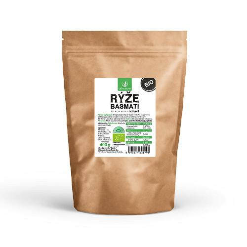 Zobrazit detail výrobku Allnature Basmati rýže natural BIO 400 g