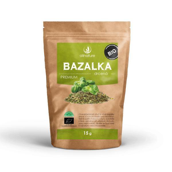 Zobrazit detail výrobku Allnature Bazalka drcená BIO 15 g