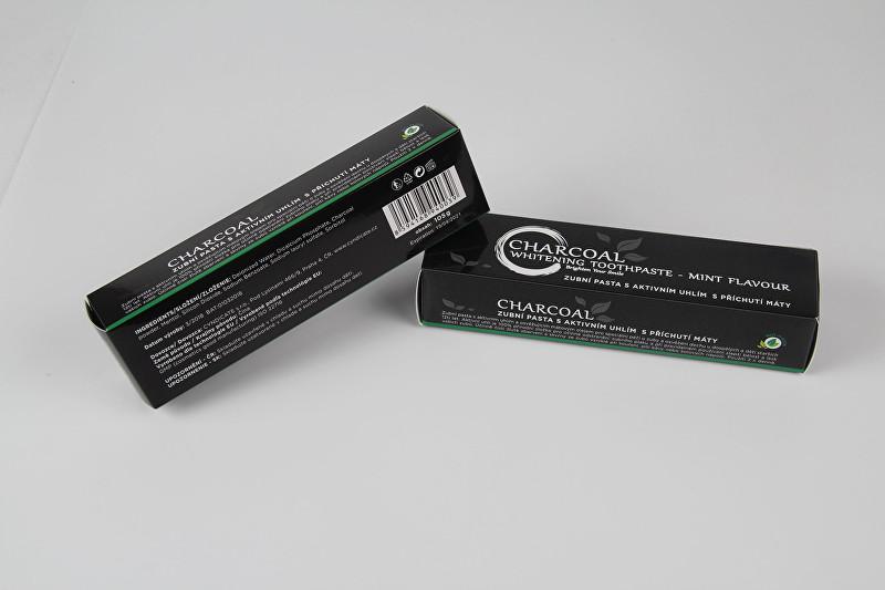 White Glo Bělící zubní pasta Charcoal 105 g