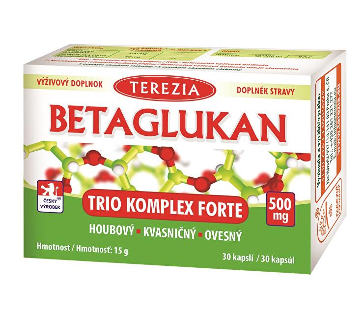 Zobrazit detail výrobku Terezia Company Betaglukan Trio Komplex Forte 500 mg 30 kapslí