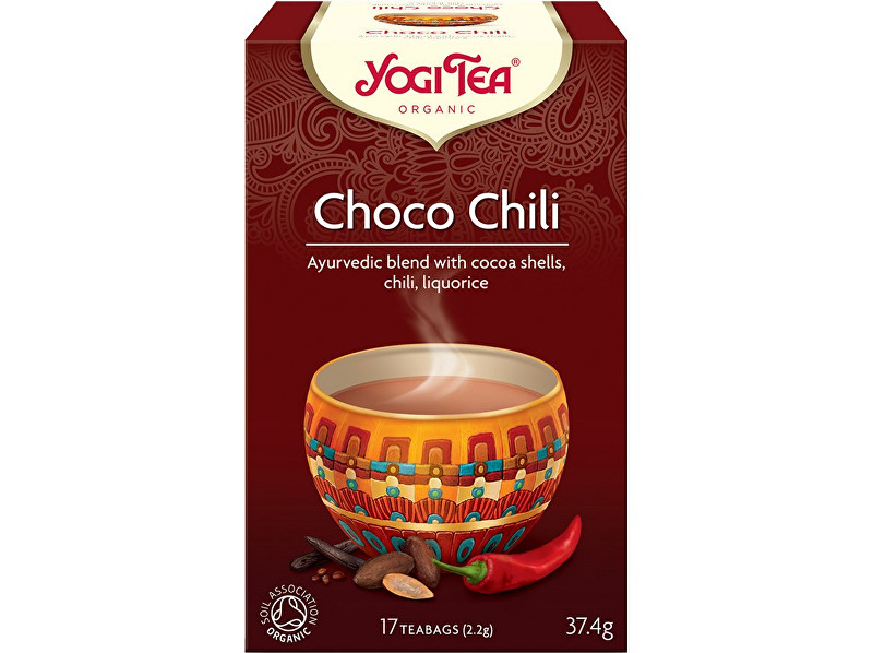 Yogi Tea Bio Choco chili Yogi Tea 17 x 2,2 g