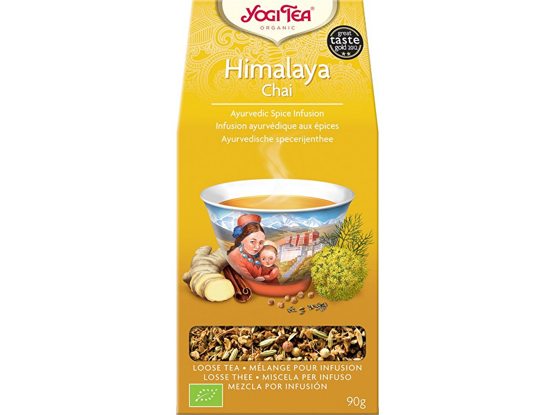 Zobrazit detail výrobku Yogi Tea Bio Himalaya Chai sypaný Yogi Tea 90 g
