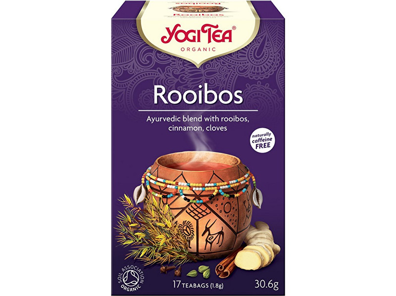 Zobrazit detail výrobku Yogi Tea Bio Rooibos Yogi Tea 17 x 1,8 g