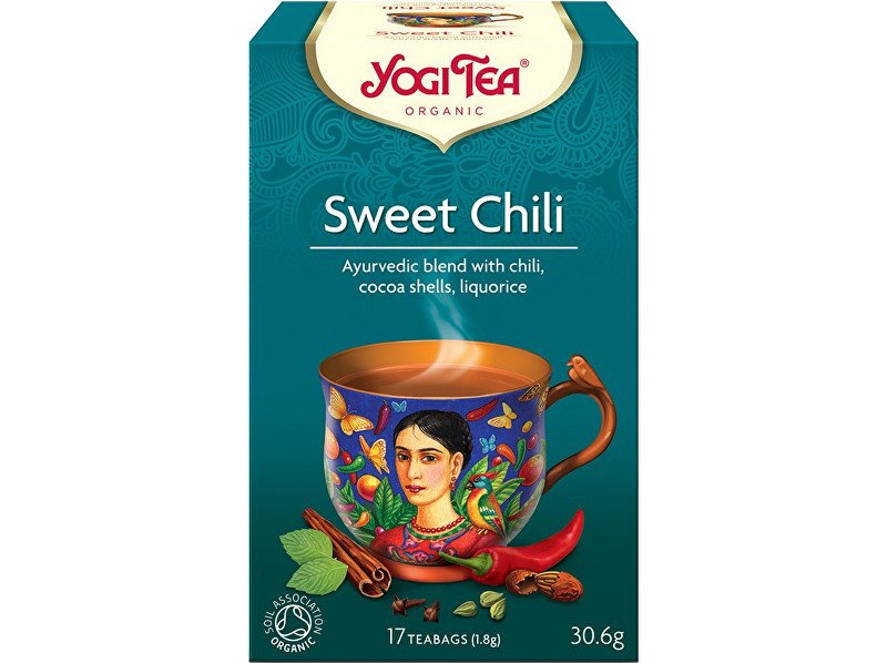 Yogi Tea Bio Sladké chili Yogi Tea 17 x 1,8 g