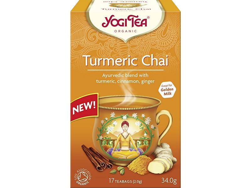 Zobrazit detail výrobku Yogi Tea Bio Turmeric chai Yogi Tea 17 x 2 g