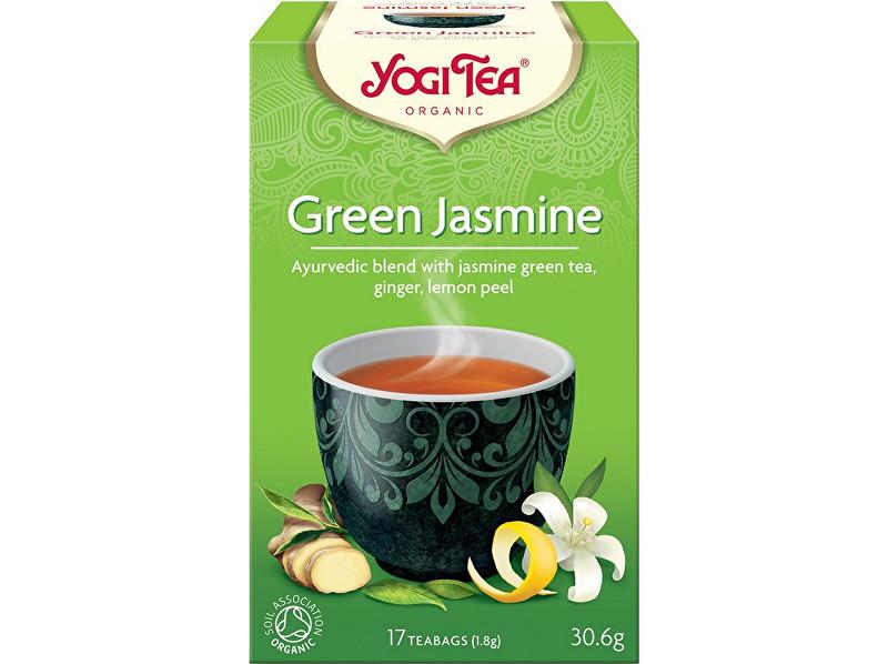 Yogi Tea Bio Zelený jasmín Yogi Tea 17 x 1,8 g