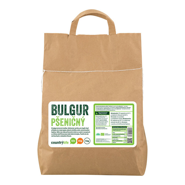 Zobrazit detail výrobku Country Life Bulgur pšeničný BIO 5  kg