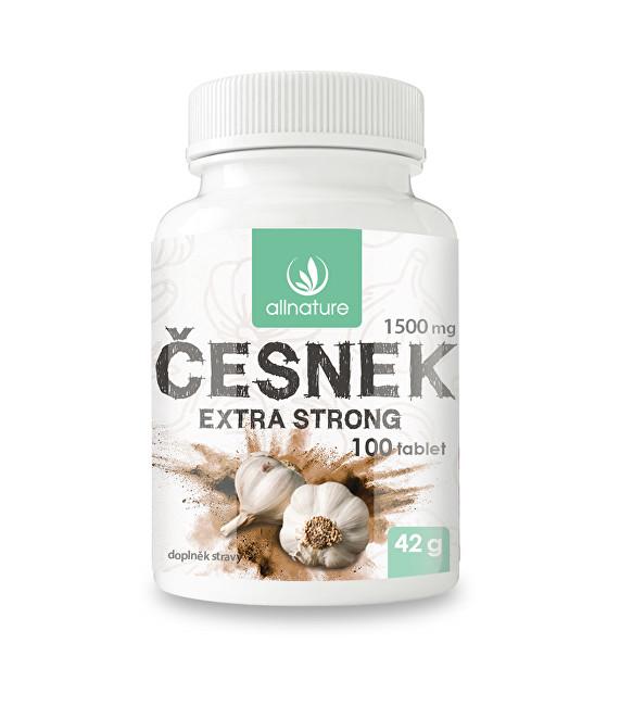 Zobrazit detail výrobku Allnature Česnek 1500 mg 100 tbl.