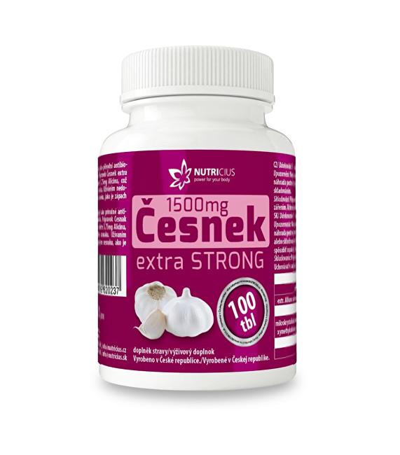 Česnek extra strong 1500 mg 100 tbl.